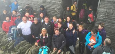 Liberty Group staff conquer Snowdon in fundraising trek