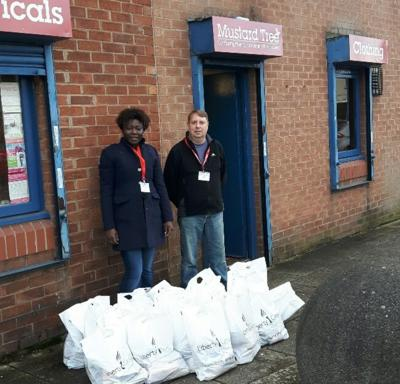 Liberty helps launch City West's 2015/16 Winter Welfare Programme
