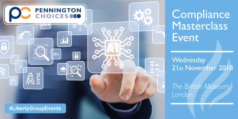Join us at the Pennington Choices Compliance Masterclass